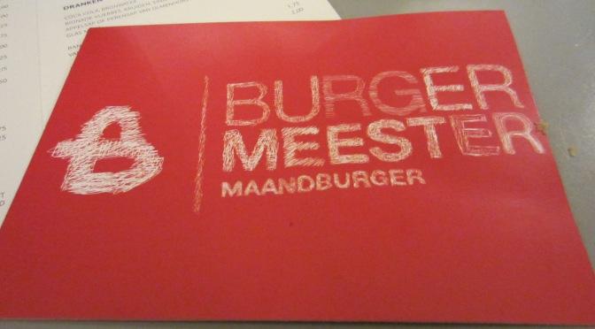 A Dutch burger