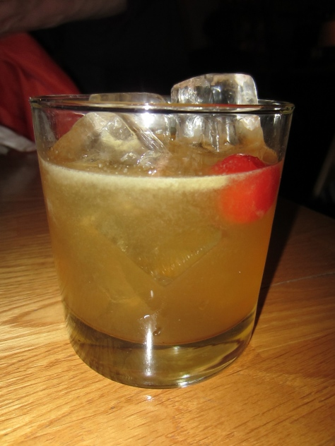 Amaretto sour.
