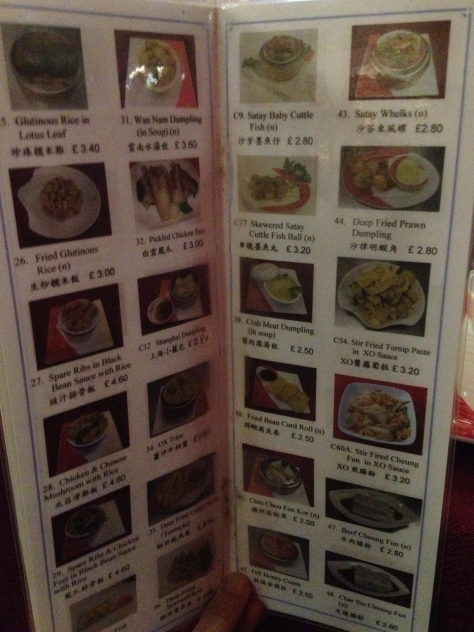 Just a small selection of the dim sum on offer.
