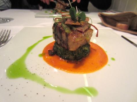 Sesimbra's pink swordfish with Caldeirada flavours
