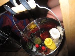 Condiments!