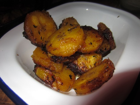 Spiced plantain