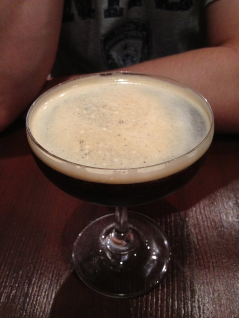 Tonka bean espresso martini
