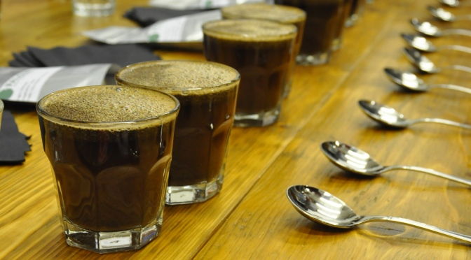 Inaugural Cupping event @ North Star Micro Roasters, Leeds