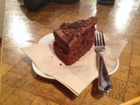 Chocolate mocha cake from That Old Chestnut
