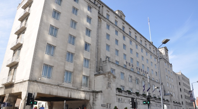 Afternoon Tea @ The Queens Hotel, Leeds – guest blog by Lucy Reynolds