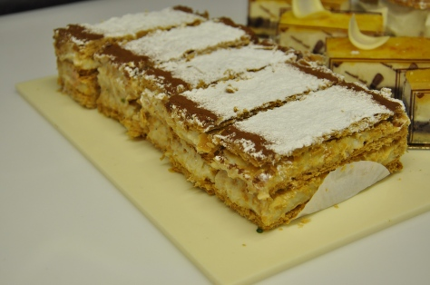 Millefeuille - vanilla and almond