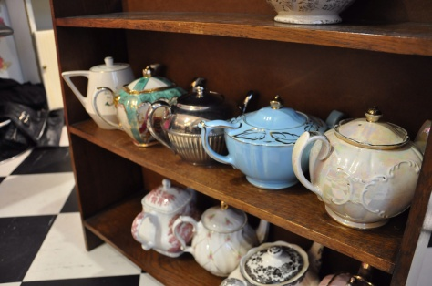 Gorgeous tea pots