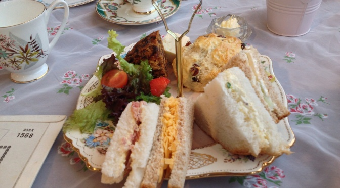 Afternoon Tea @ Just Grand! Vintage Tearooms, Leeds