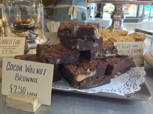 Cocoa Walnut Brownie
