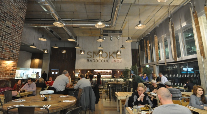 Smoke Barbecue Grand Opening, Sheffield