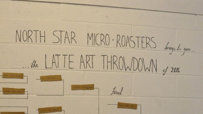 North Star Latte Art Throwdown @ North Star Micro Roasters, Leeds