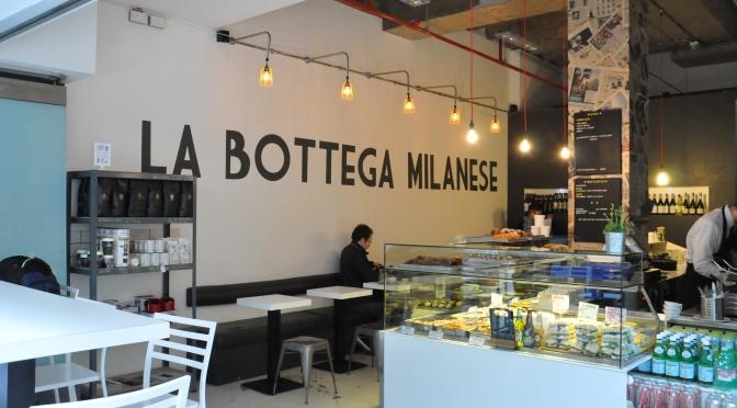The North's Coffee Community, pt I – La Bottega Milanese
