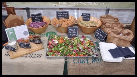 Hepworth's Salad bar