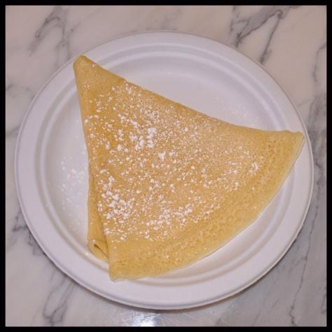 Crepe with lemon & sugar