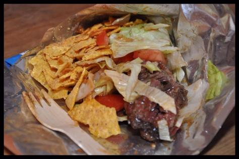 BBQ Walking Taco