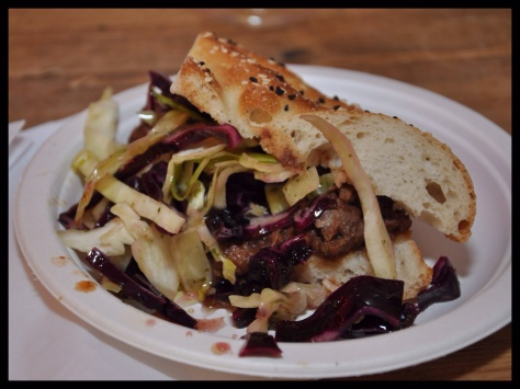 Beef brisket and celeriac croquettes