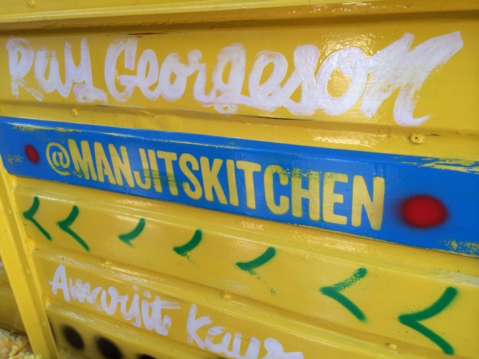 Manjit's Kitchen Yellow Horsebox Launch Party!