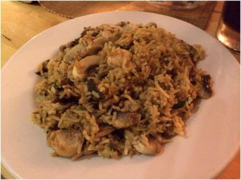 Mushroom Pilau