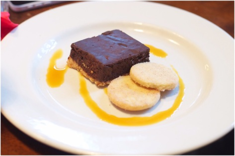 Chocolate & orange mousse