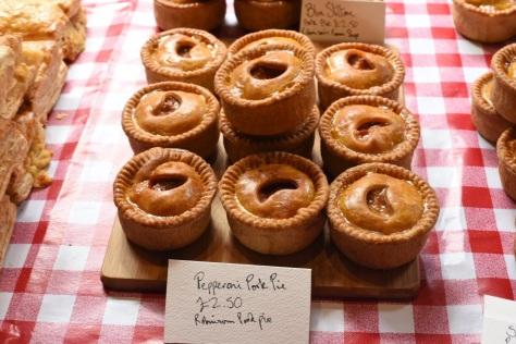 Pepperoni pork pie - Robinsons Farm Shop