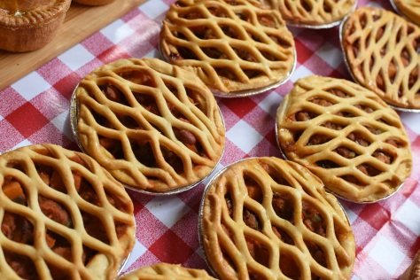 3 bean & roasted veg pie - Keelham Farm Shop