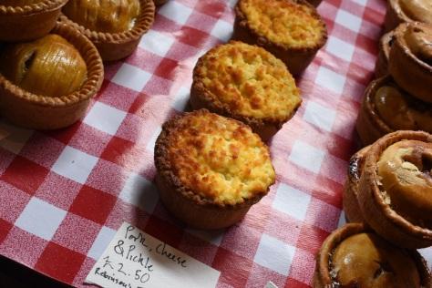 Pork, cheese & pickle pies - Robinson Farm Shop