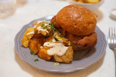Chicken roll deluxe