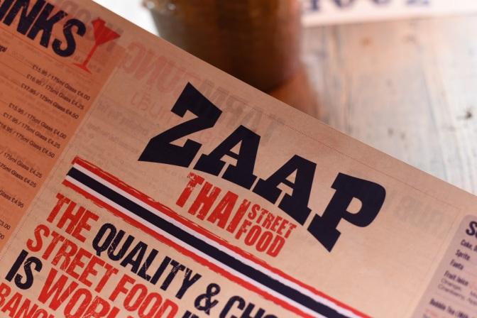 Zaap Thai Street Food, Leeds