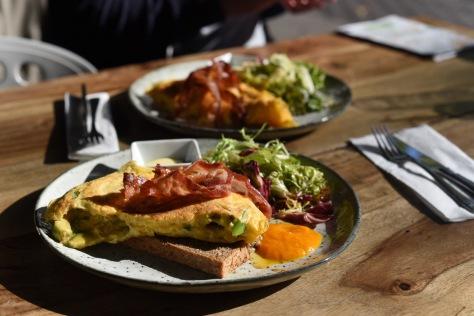 Parker Bowles brunch omelettes